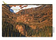 Evening On The Great Divide Painted Carry-all Pouch