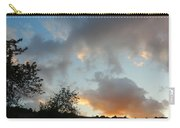 Evening On The Hill Carry-all Pouch