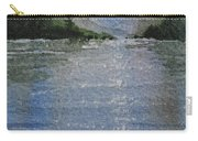Evening On The Lake Carry-all Pouch