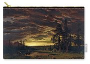 Evening On The Prairie Carry-all Pouch
