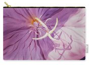 Evening Primrose Flower Carry-all Pouch