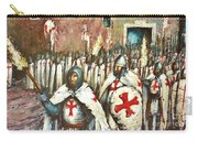Templar Procession  Carry-all Pouch