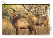 Evening Sets On The Elk Carry-all Pouch