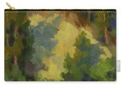 Evening Shadows Teanaway River Carry-all Pouch