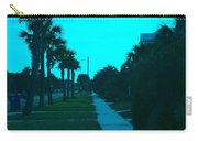 Evening Stroll At Isle Of Palms Carry-all Pouch