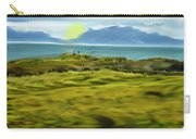 Evening Stroll By The Seashore Carry-all Pouch