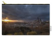 Evening Sunlit Seattle Skyline Carry-all Pouch