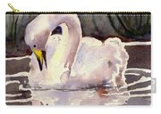 Evening Swan Carry-all Pouch