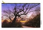 Evening Tree Carry-all Pouch by Debra and Dave Vanderlaan