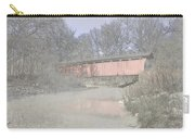 Everett Covered Bridge Carry-all Pouch by Jack R Perry