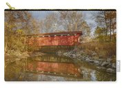 Everett Rd. Covered Bridge In Fall Carry-all Pouch
