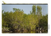 Everglades'  Egrets Carry-all Pouch