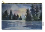 Evergreen Glow Carry-all Pouch