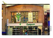 Evergreen Yonge St  Scenes Building A Better Toronto One Person At A Time Community Center Cspandau Carry-all Pouch