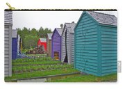 Every Garden Needs A Shed And Lawn Two In Les Jardins De Metis/reford Gardens Near Grand Metis-qc Carry-all Pouch