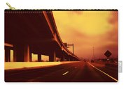 Everybody's Out Of Town - Sundown Carry-all Pouch by Wendy J St Christopher