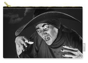 Evil Witch Under A Full Moon Carry-all Pouch