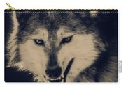 Evil Wolf Carry-all Pouch