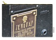 Evita Burial Vault Carry-all Pouch