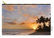 Ewa Beach Sunset 2 - Oahu Hawaii Carry-all Pouch by Brian Harig