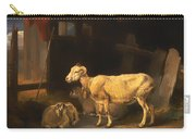Ewe And Lambs Carry-all Pouch