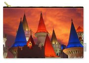 Excalibur Hotel Las Vegas Sunset Carry-all Pouch