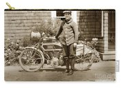 Excalibur Motorcycle California Circa 1915 Carry-all Pouch