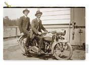 Excalibur Motorcycle Circa 1920 Carry-all Pouch