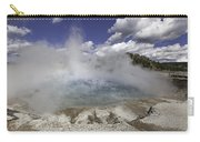 Excelsior Geyser Crater In Yellowstone National Park Carry-all Pouch
