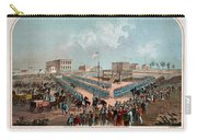Execution Of The Thirty Eight Sioux Indians Carry-all Pouch
