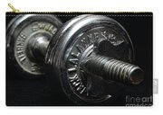 Exercise  Vintage Chrome Weights Carry-all Pouch