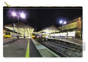 Exeter St Davids By Night  Carry-all Pouch by Rob Hawkins