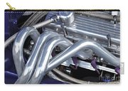 Exhaust Manifold Hot Rod Engine Bay Carry-all Pouch by Allen Beatty