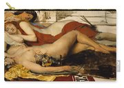 Exhausted Maenides Carry-all Pouch by Sir Lawrence Alma Tadema