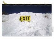 Exit Carry-all Pouch by Fiona Kennard