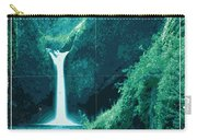 Exoplanet 04 Travel Poster Fomalhaut B Carry-all Pouch by Chungkong Art