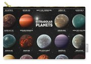 Exoplanets Carry-all Pouch