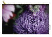 Exotic Purple Flower Carry-all Pouch