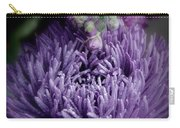 Exotic Purple Flower Two Carry-all Pouch