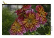 Exotic Spring Flowers Carry-all Pouch