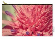 Exploding Pink Flower Carry-all Pouch