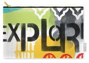 Explore- Contemporary Abstract Art Carry-all Pouch