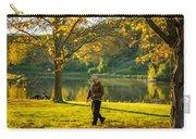 Exploring Autumn Light Carry-all Pouch by Steve Harrington