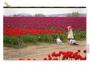 Exploring The Tulip Fields Carry-all Pouch