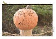 Expressive Pumpkin Carry-all Pouch