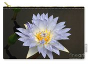 Exquisite Lavender Waterlily Carry-all Pouch