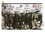 Extras Racing To The Boxing Arena The Great White Hope Set Globe Arizona 1969-2009 Carry-all Pouch