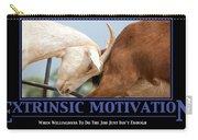 Extrinsic Motivation De-motivational Poster Carry-all Pouch