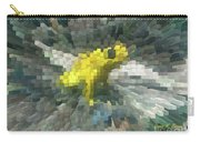 Extrude Yellow Frog Carry-all Pouch