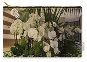 Exuberant Orchid Display Carry-all Pouch